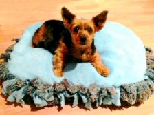 how to make your own dog bed