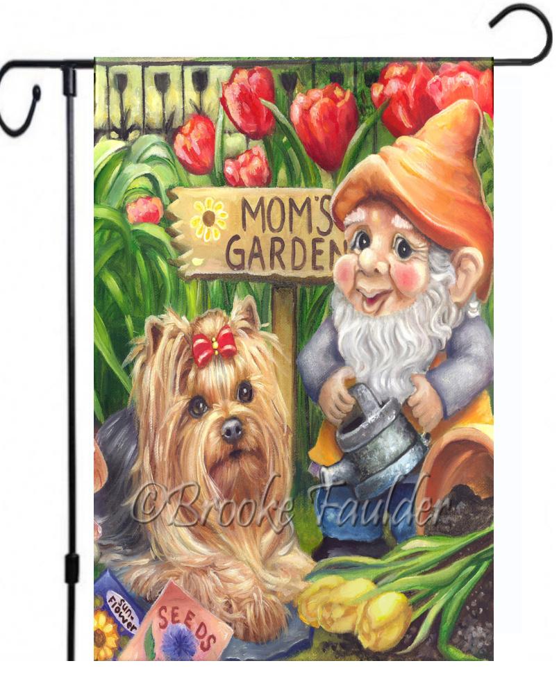 gnome garden flag