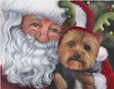 yorkie cards, yorkie painting, Yorkie, Yorkshire Terrier, art